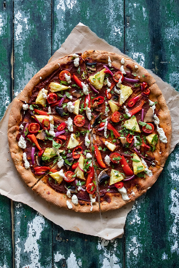vegan pizza recipes