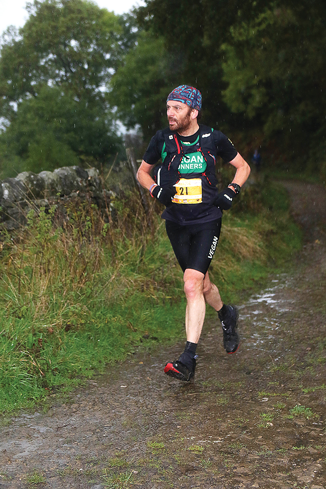 Meet Ishmael Burdeau, the vegan ultra runner who competed in 'Britain's Most Brutal Race'