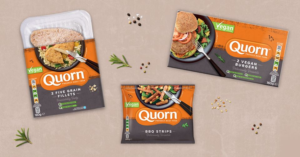 Quorn releases three brand new vegan products