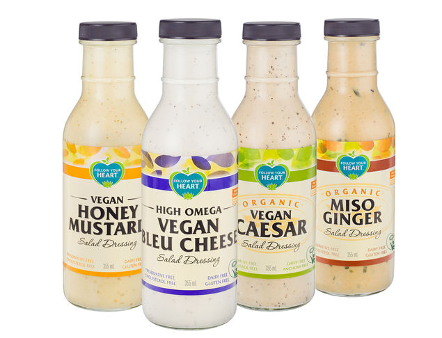 Vegan brand Follow Your Heart launch three new products into Sainsbury's stores