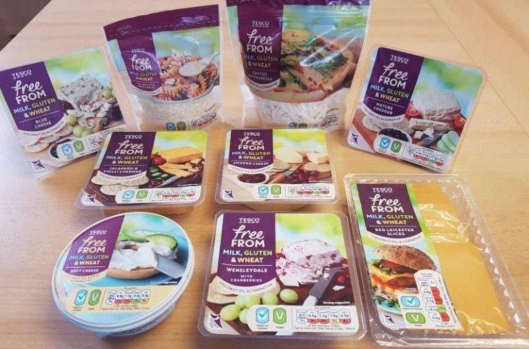 UK: Tesco releases two new flavours of vegan cheese