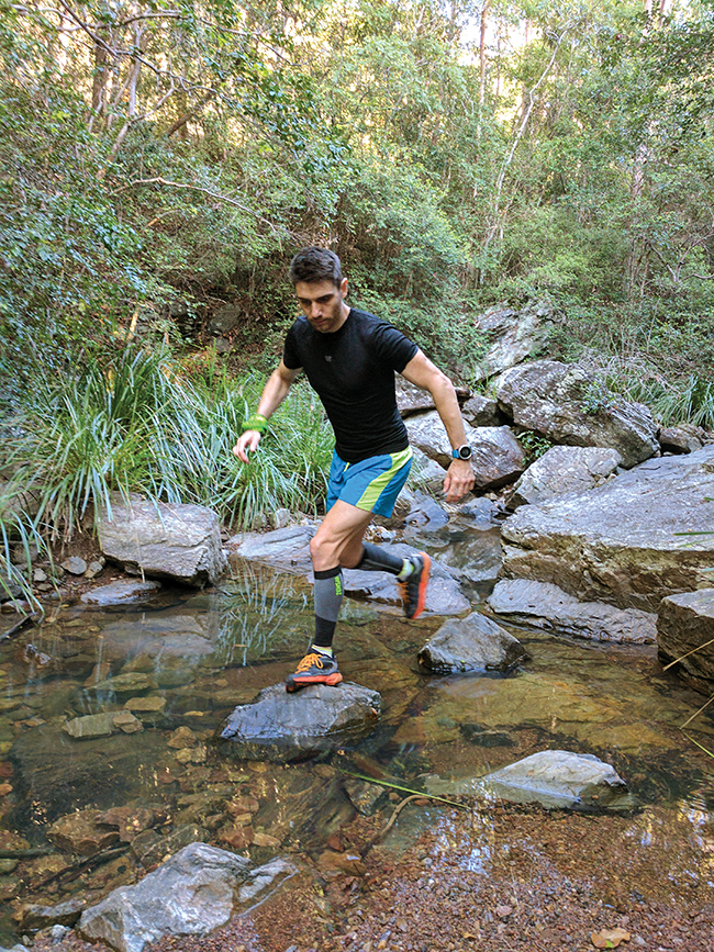 Running on plant power: Meet vegan ultra-runner Andrew Hedgeman