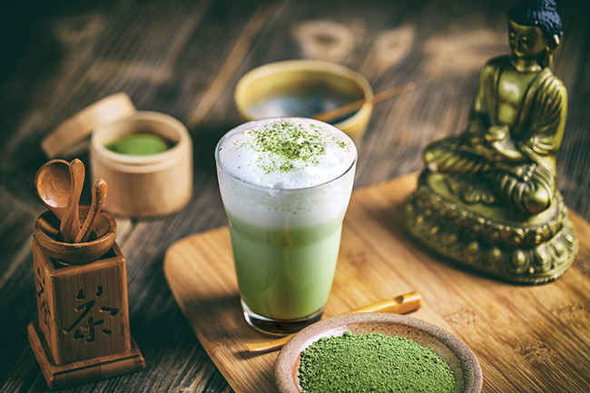 Superfood lattes: The colourful new coffee trend