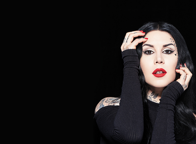 interview with kat von d