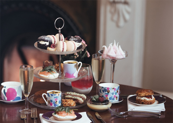 The Comfy Duck afternoon tea
