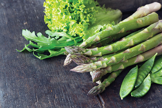 When grown in the right conditions, asparagus can be a good source of iodine for vegans.