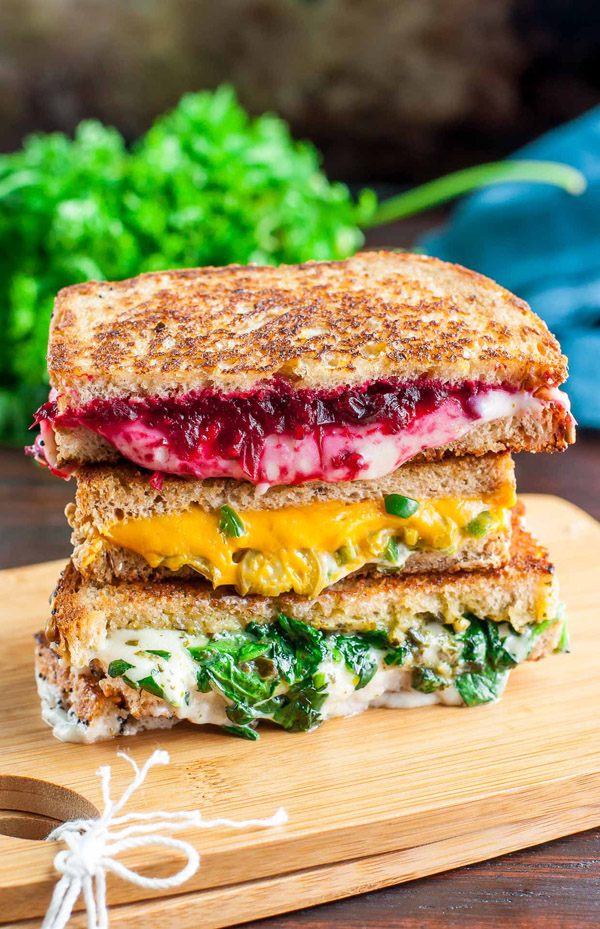 grilled cheese street food