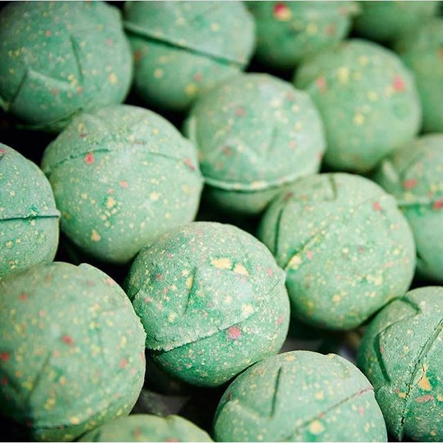 """According to a post on Lush's Instagram page: """"Things maybe getting festive, but Halloween is just round the corner! There's lots of spooky treats coming your way."""" Products in the Halloween include everything from the company's iconic bath bombs to soap, shower wash and lip balm, to a whole host of brand spanking new products."""