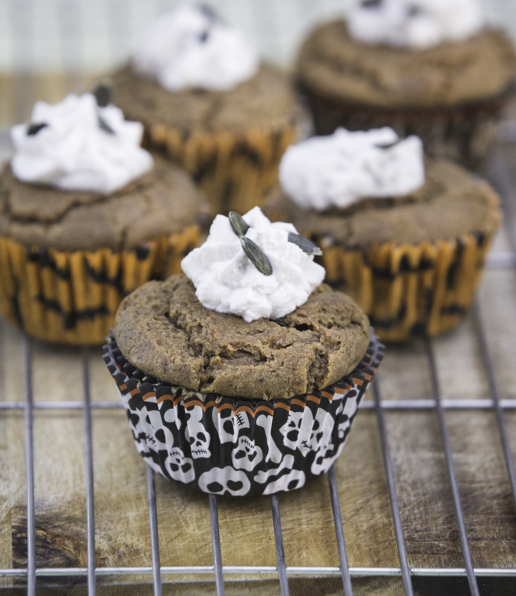 vegan halloween muffin recipe