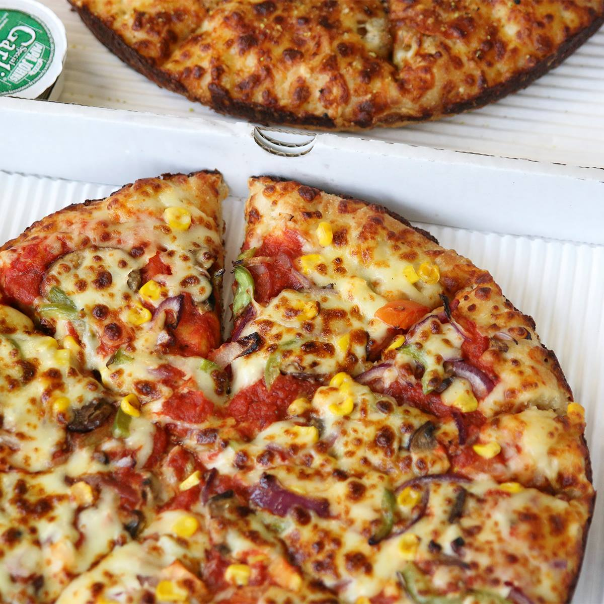 papa john's vegan cheese