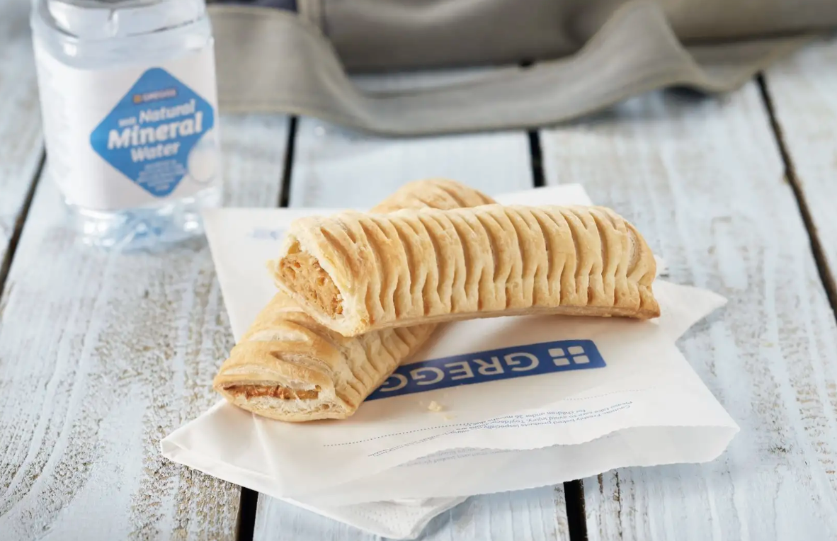 greggs vegan sausage roll sold in all stores