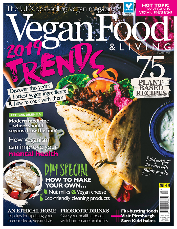 Vegan Food & Living March 2019