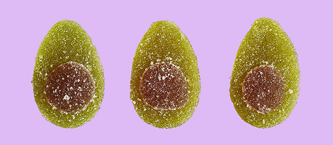 waitrose vegan avocado sweets