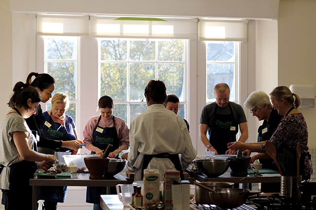demuths cookery school