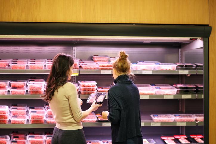 tesco sell vegan meat in meat aisle