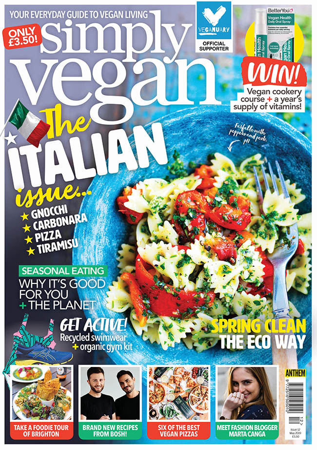 Simply Vegan May 2019