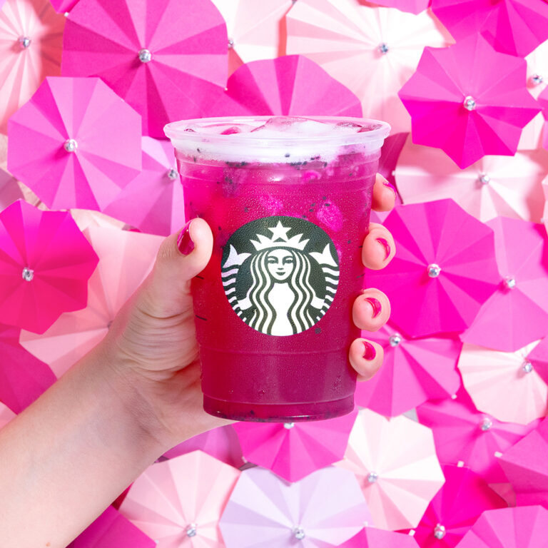 mango dragonfruit with coconut milk starbucks
