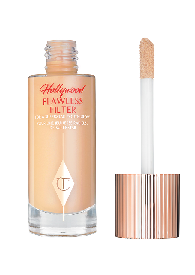Charlotte Tilbury Hollywood Flawless Filter foundation, £30 at cultbeauty.co.uk. vegan make-up