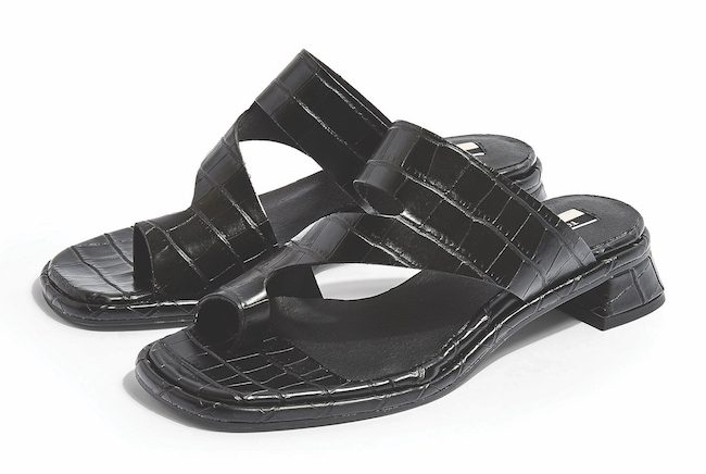 High street vegan summer sandals