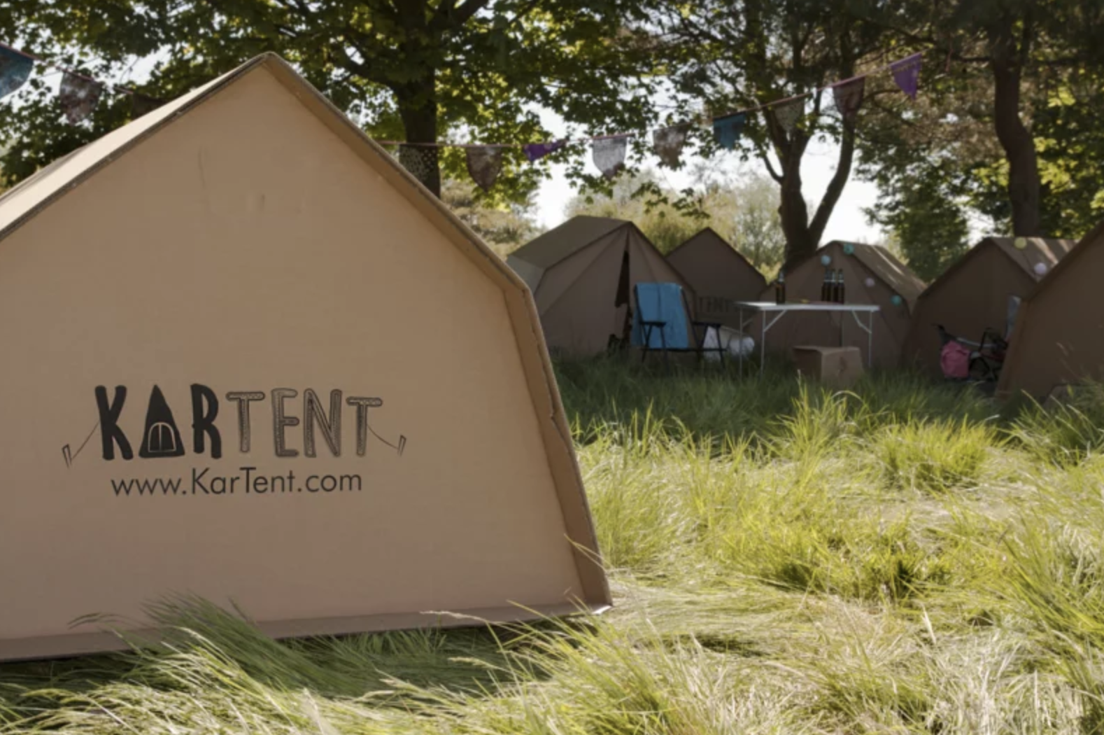 Plastic free tent: This recyclable tent