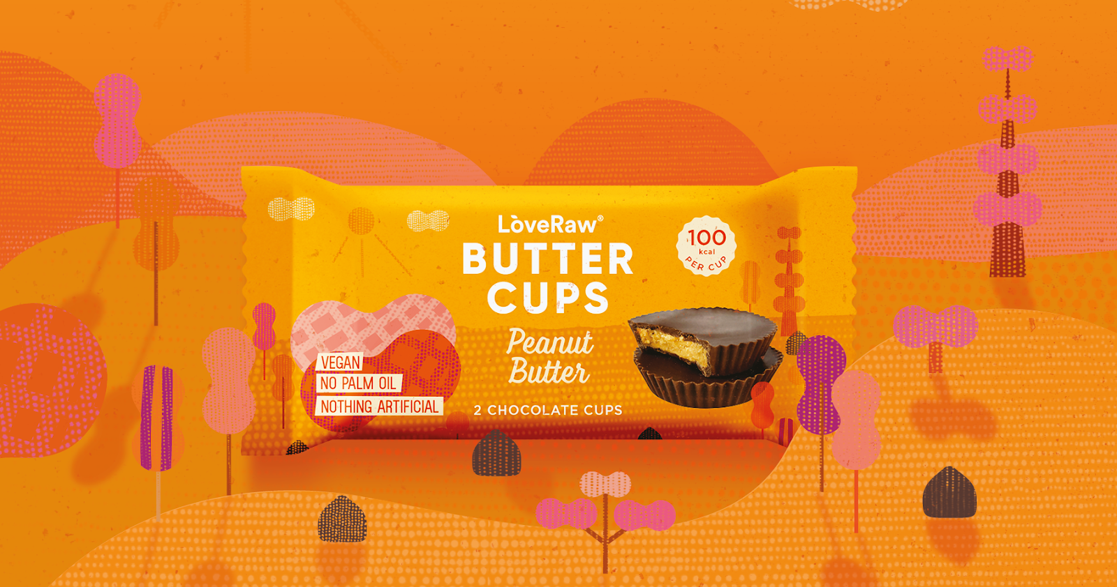 palm-oil free vegan peanut butter cups