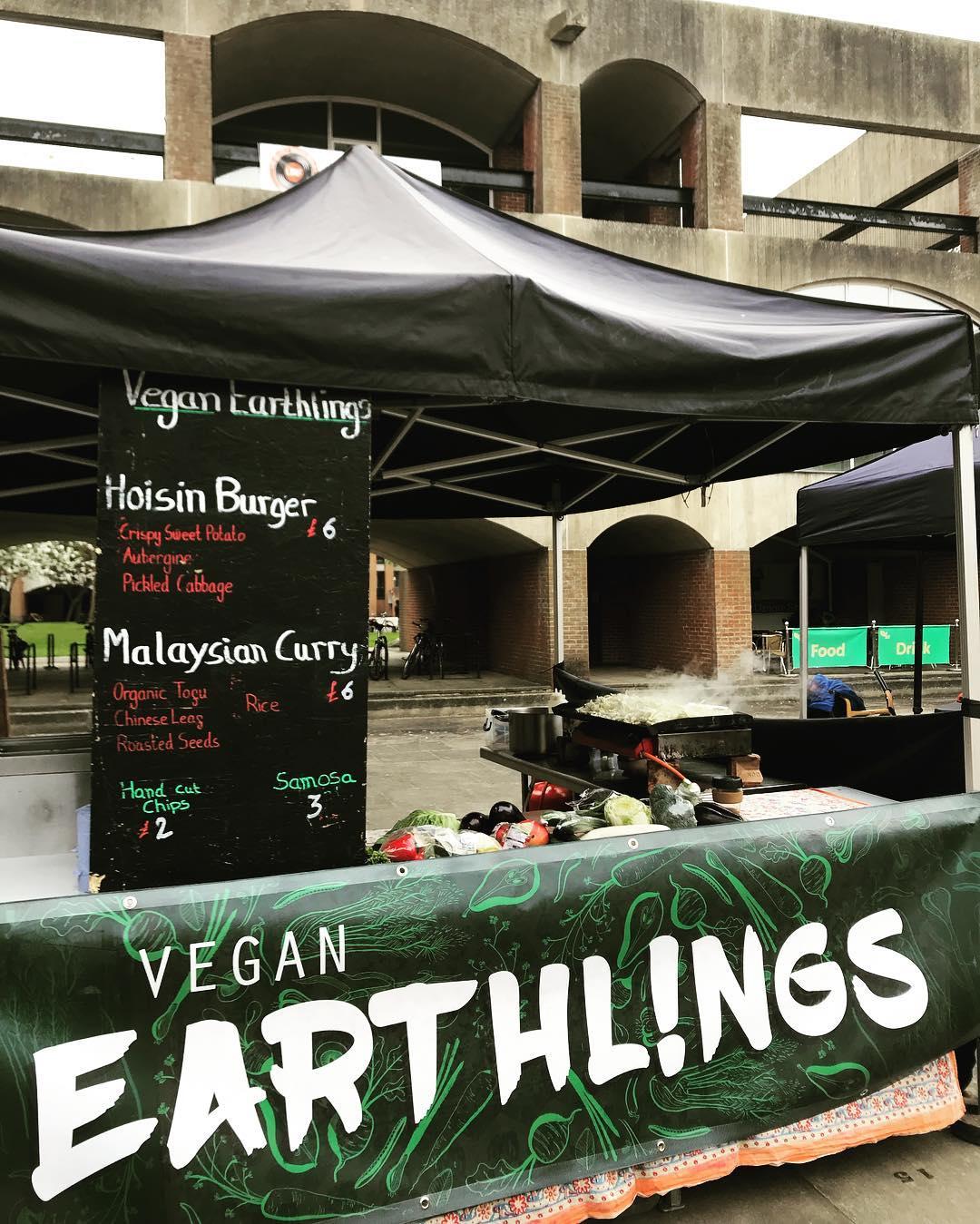 vegan food trucks uk