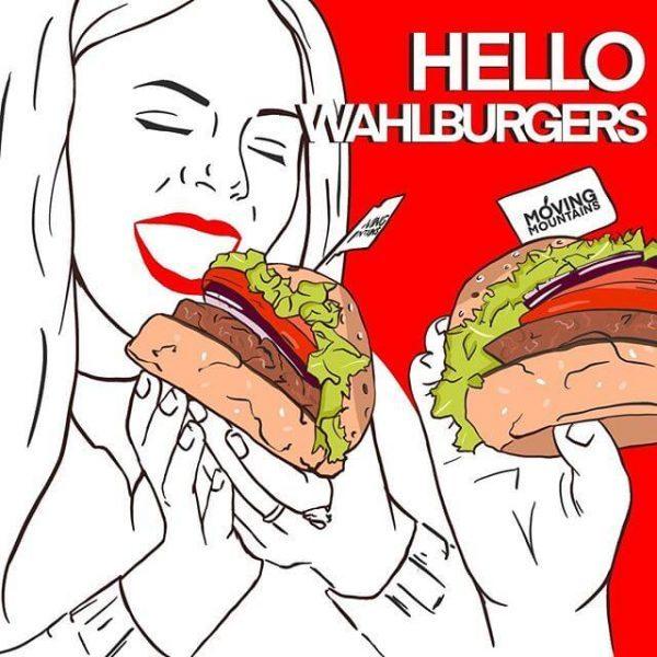 Wahlburgers Moving Mountains Haggis Burger