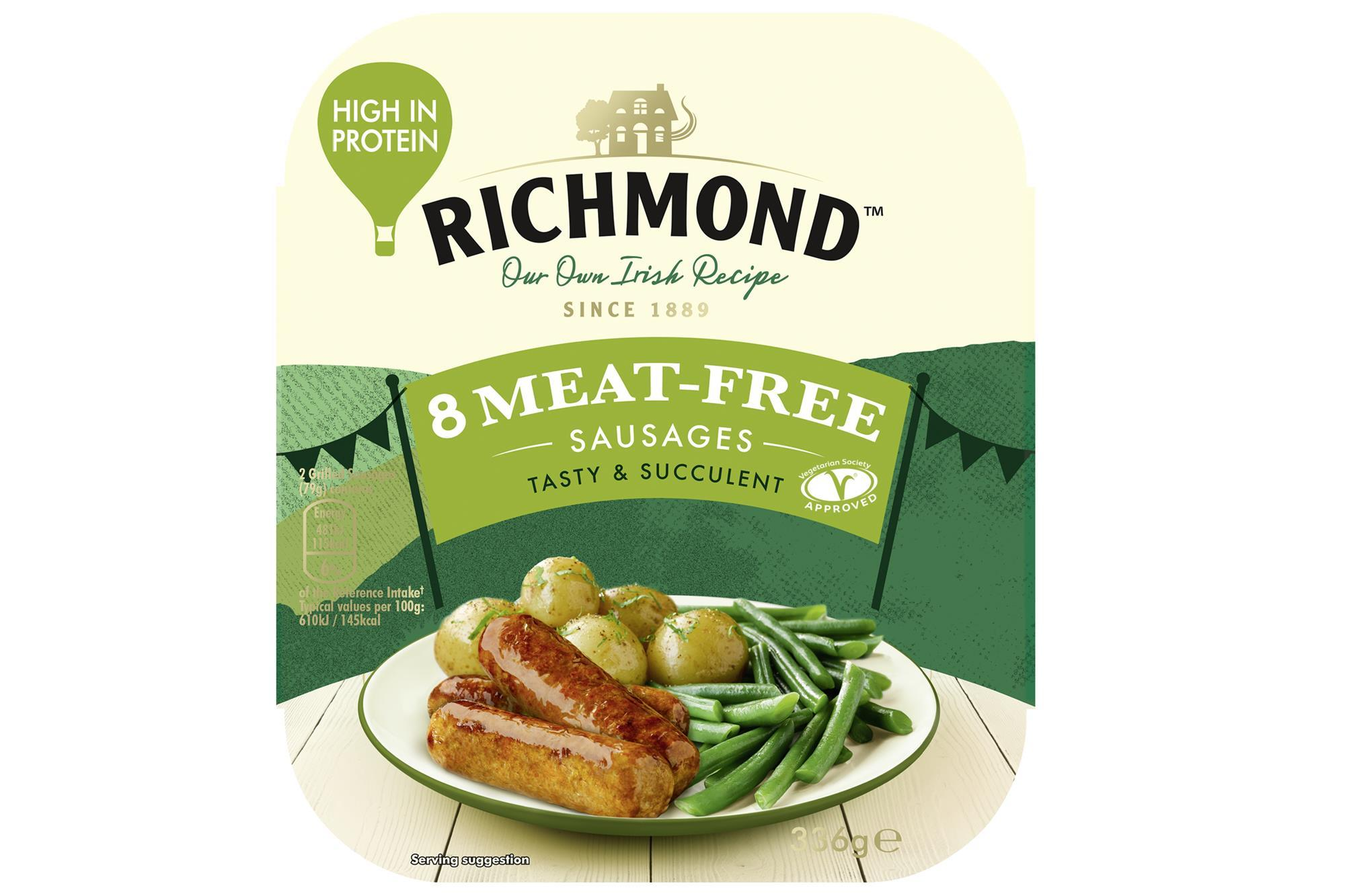 richmond vegan sausages