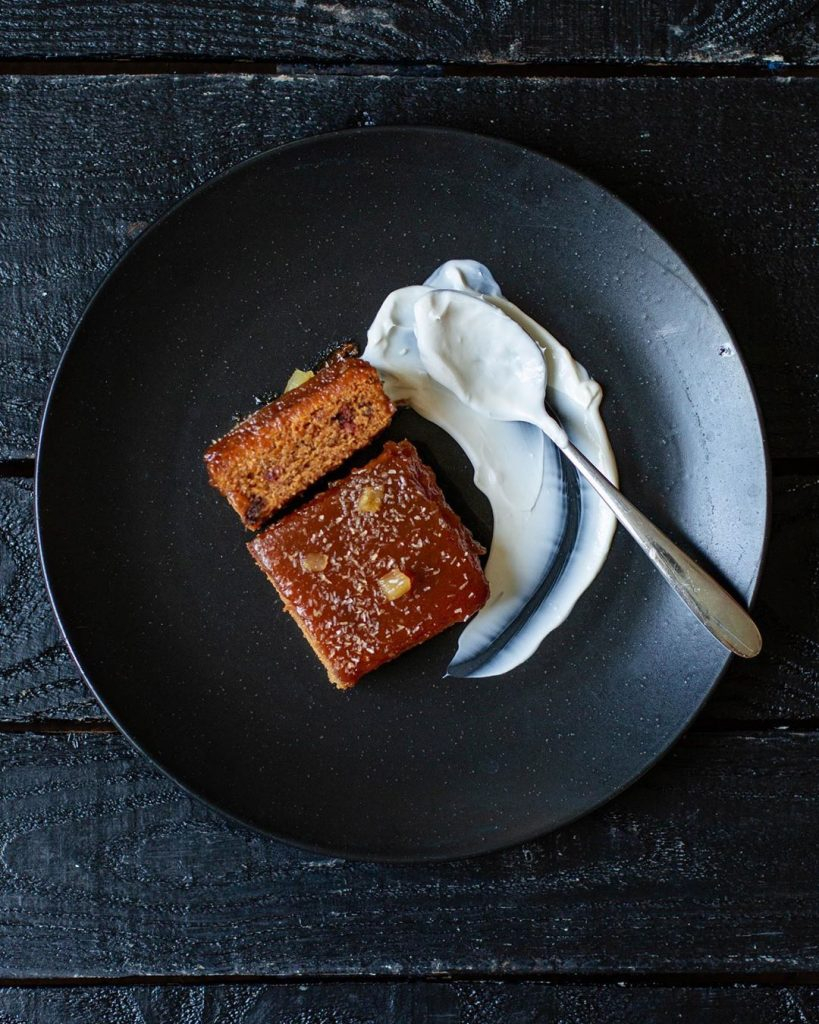 wicked kitchen sticky toffee pudding