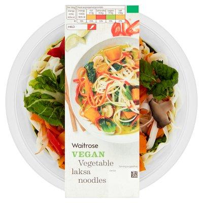 Vegetable Noodle Laksa