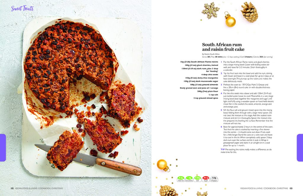 Vegan Cookbook Christmas