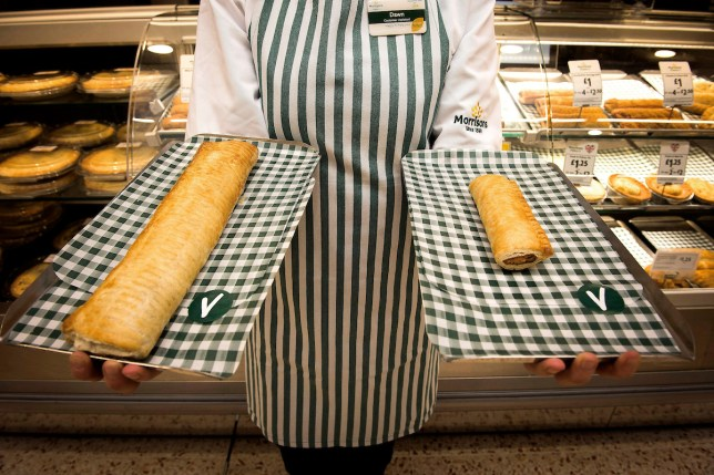 morrisons footlong sausage roll
