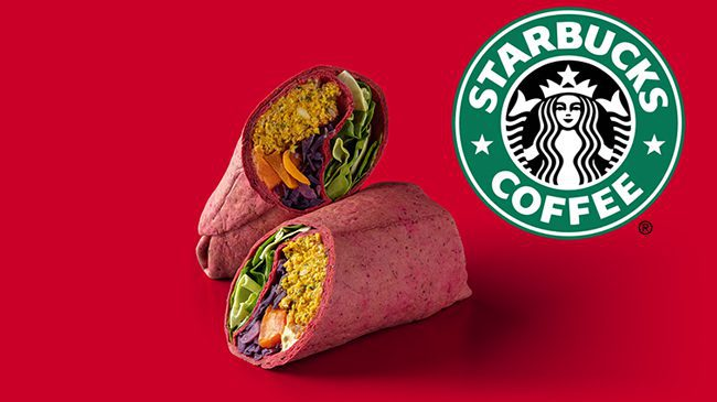 Starbucks releases a 'Very Merry Vegan Wrap' in its Christmas menu