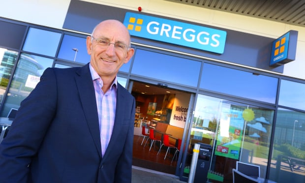 greggs ceo the game changers