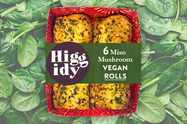 Higgidy launches its first vegan rolls and a brand new vegan pie
