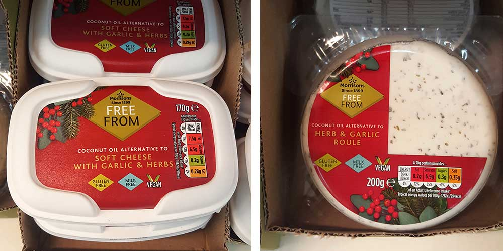 Morrisons launches a new selection of vegan cheeses including a vegan roule