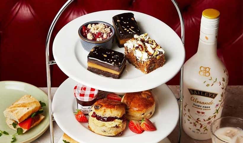 Café Rouge is launching a vegan afternoon tea for Veganuary