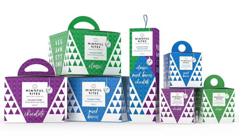 Mindful Bites launches a range of vegan panettone