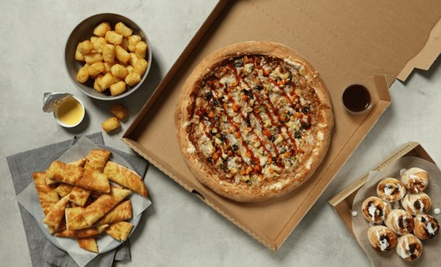 Papa John's launches a festive vegan pizza and mince pie scrolls