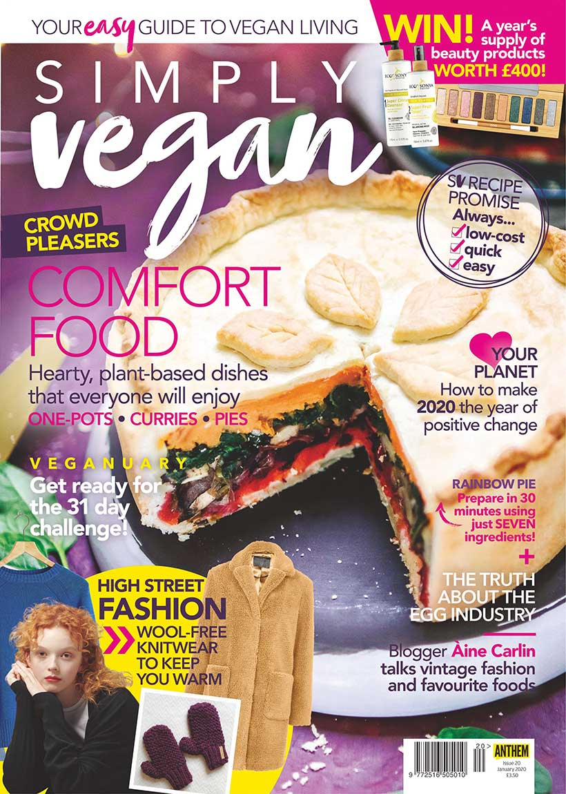 Simply Vegan January issue