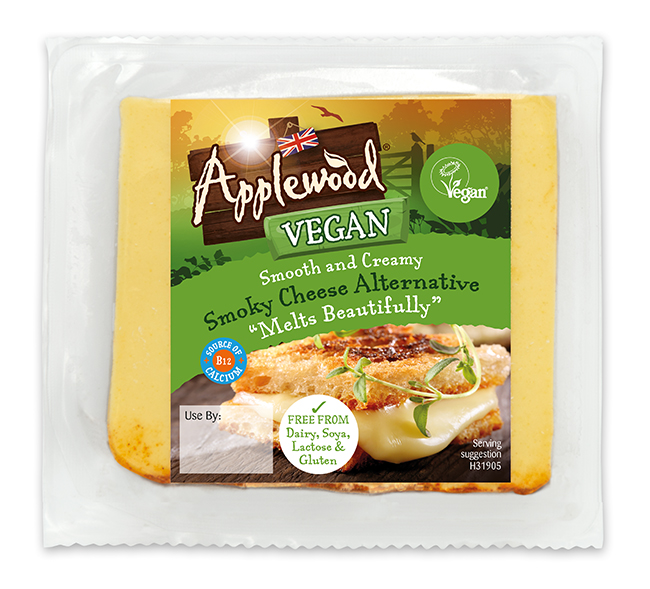 Applewood expands its vegan cheese listing to 470 Asda stores to meet demand