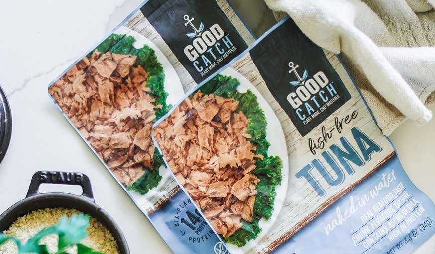 US vegan tuna brand Good Catch launches in the UK for the first time