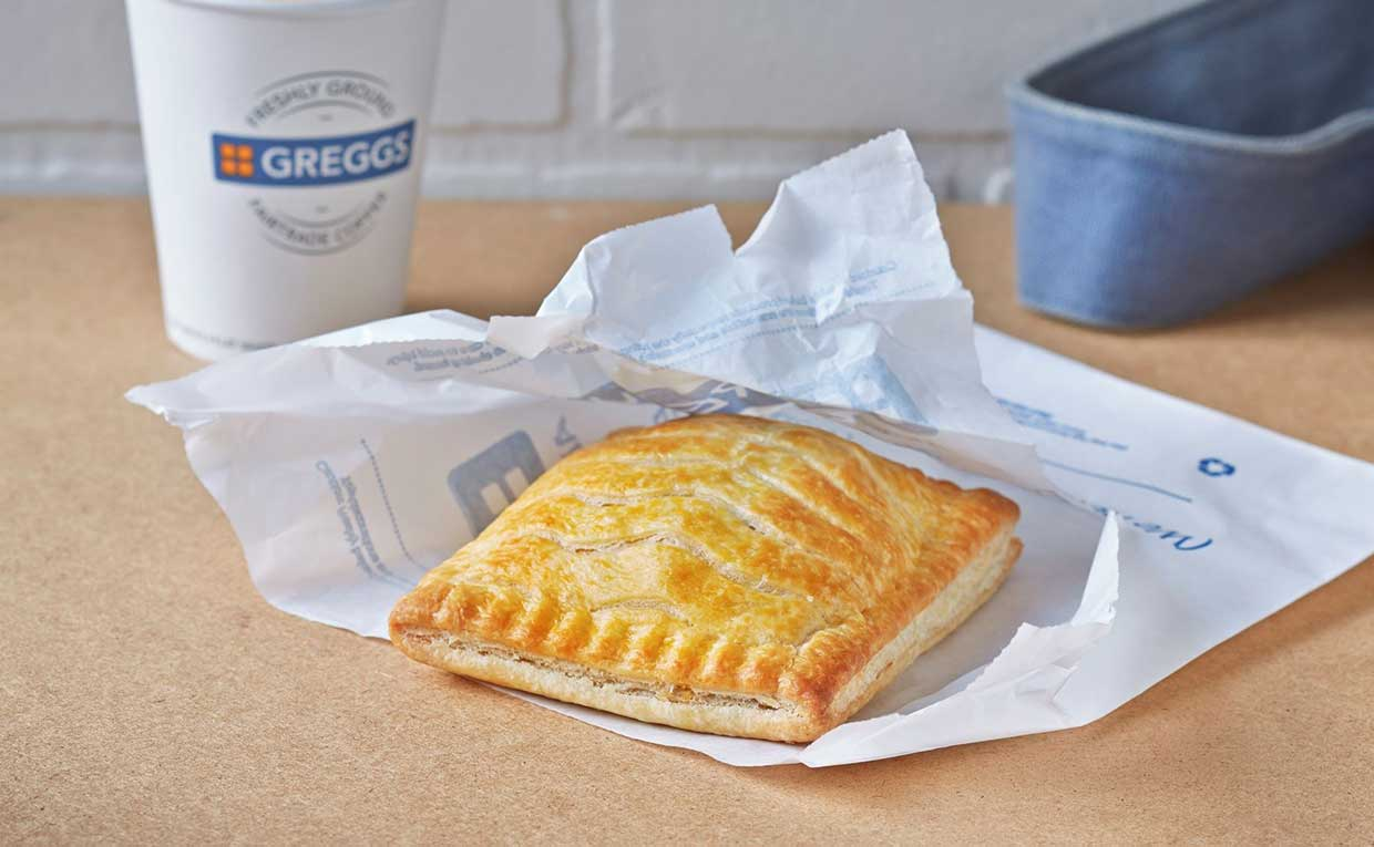 Greggs is working on vegan chicken following success of its vegan sausage roll