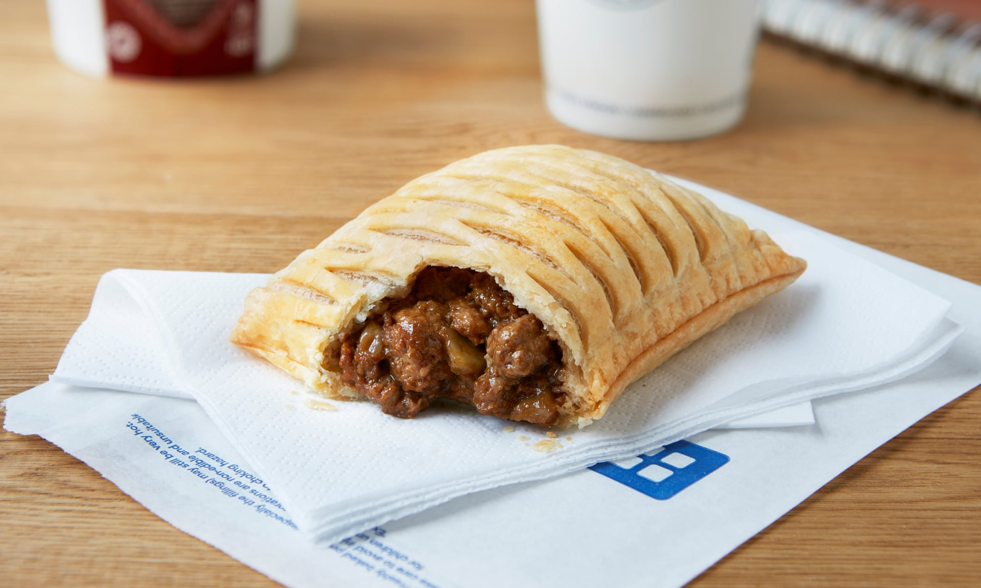 Greggs is launching a vegan steak bake in 1,300 stores today