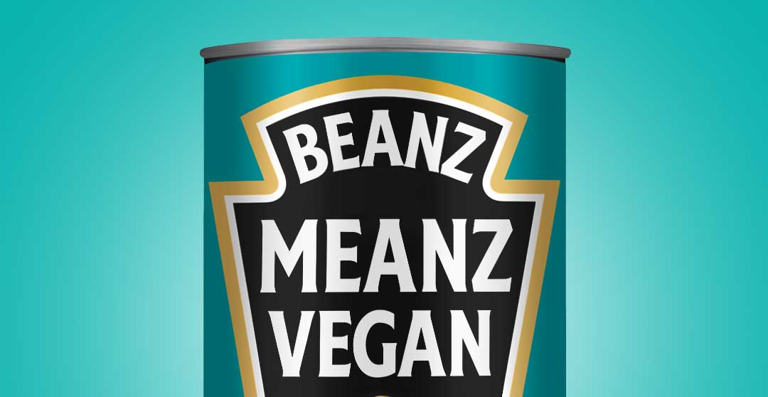 Heinz launches limited edition 'Beanz Meanz Vegan' cans