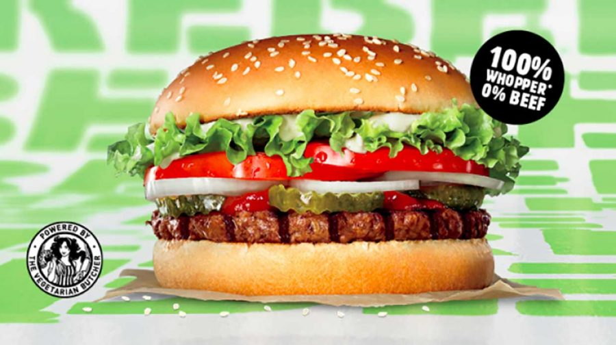 Burger King to launch its meat-free Whopper burger in the UK today