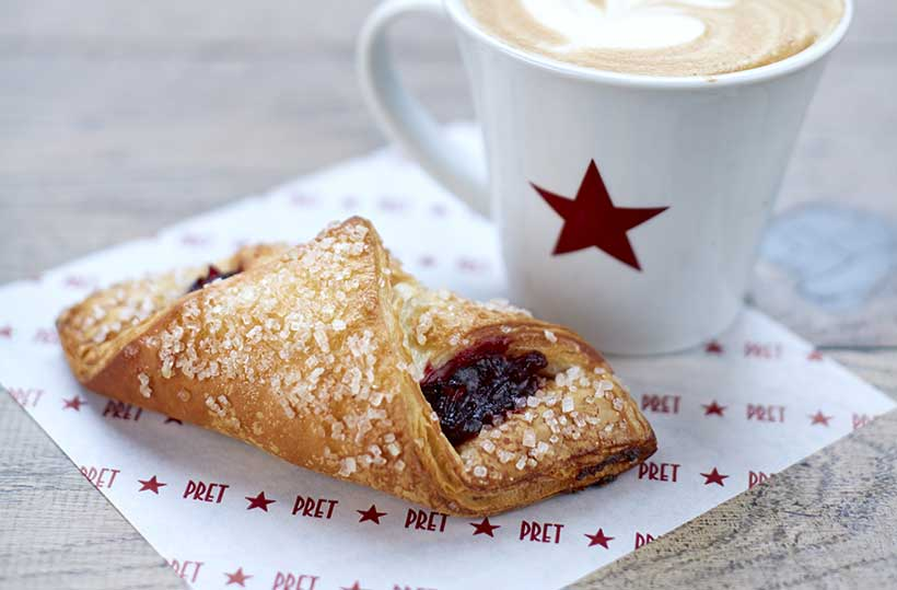 Pret A Manger to drop charges on milk alternatives as it launches its first vegan croissant nationwide