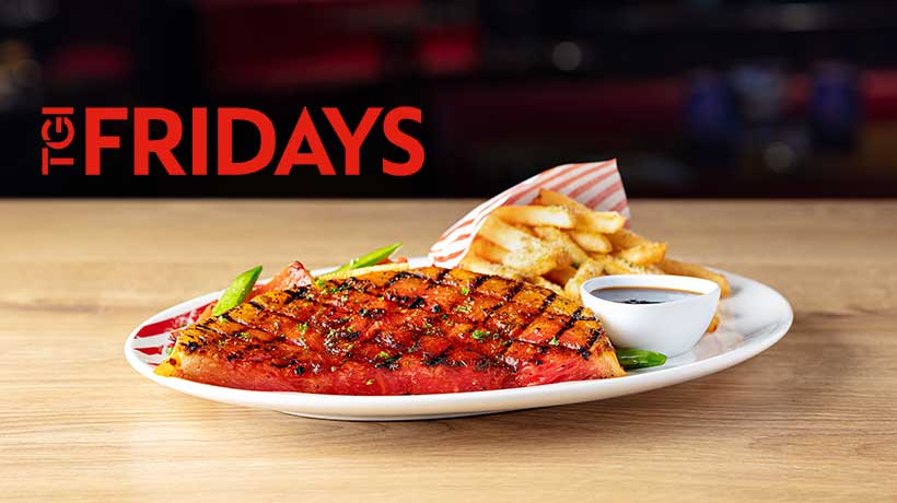 TGI Fridays to launch a vegan watermelon steak in all of its UK restaurants