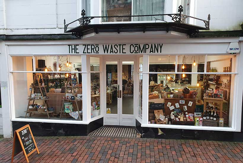 A zero waste store and café has opened in Tunbridge Wells selling everything from toys to toiletries