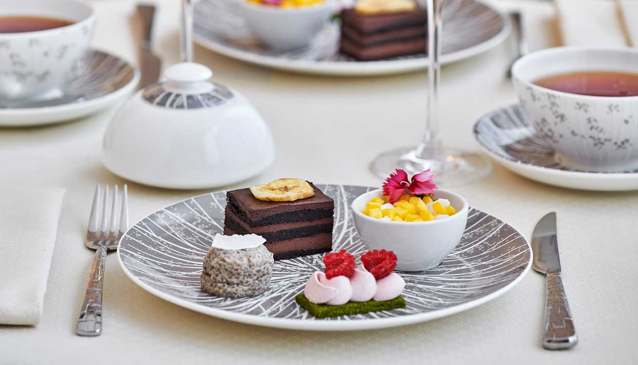 InterContinental London Park Lane hotel is serving vegan afternoon teas this Veganuary